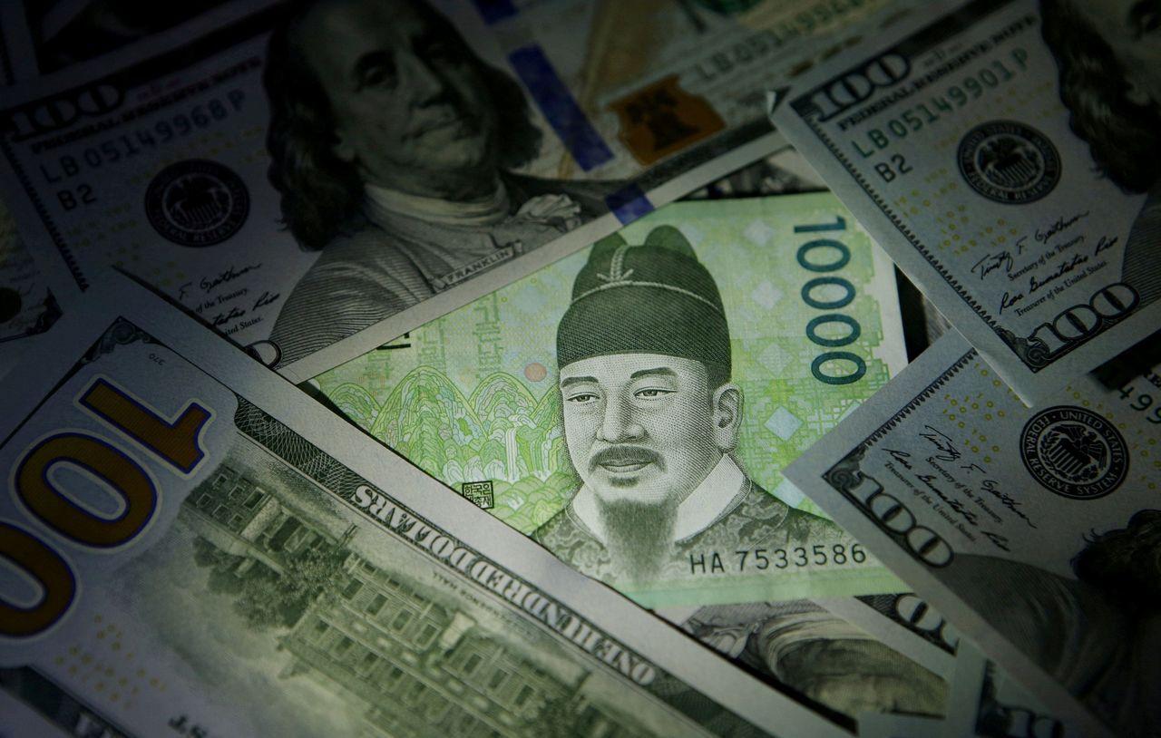 韓元今年以來貶值6%,在亞幣中表現殿底。路透