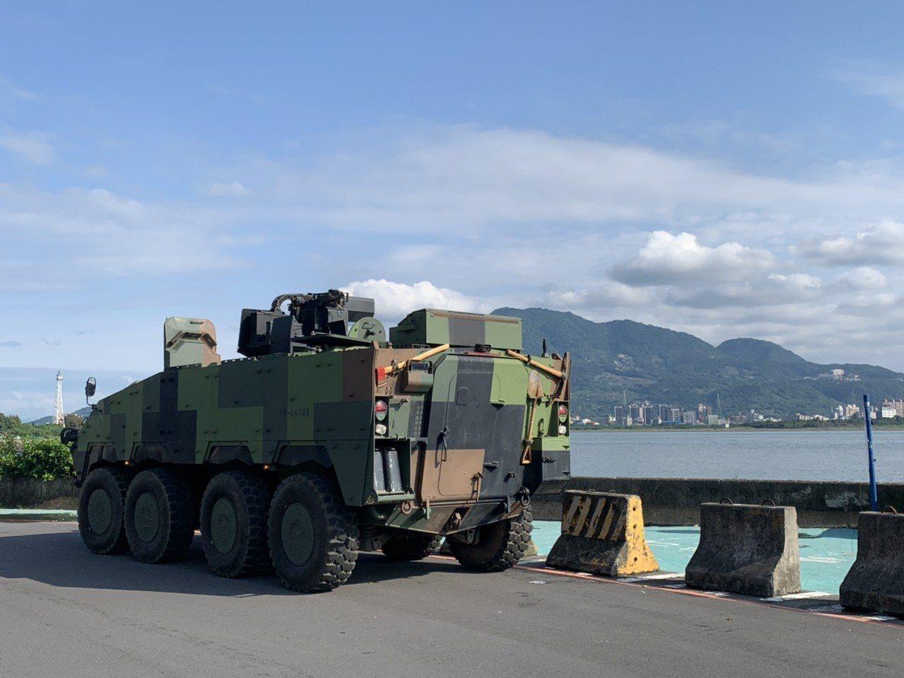 陸軍將在淡水河口實施反滲透作戰,兩岸將滿佈「火點」,以20機砲、標槍飛彈、戰車砲...