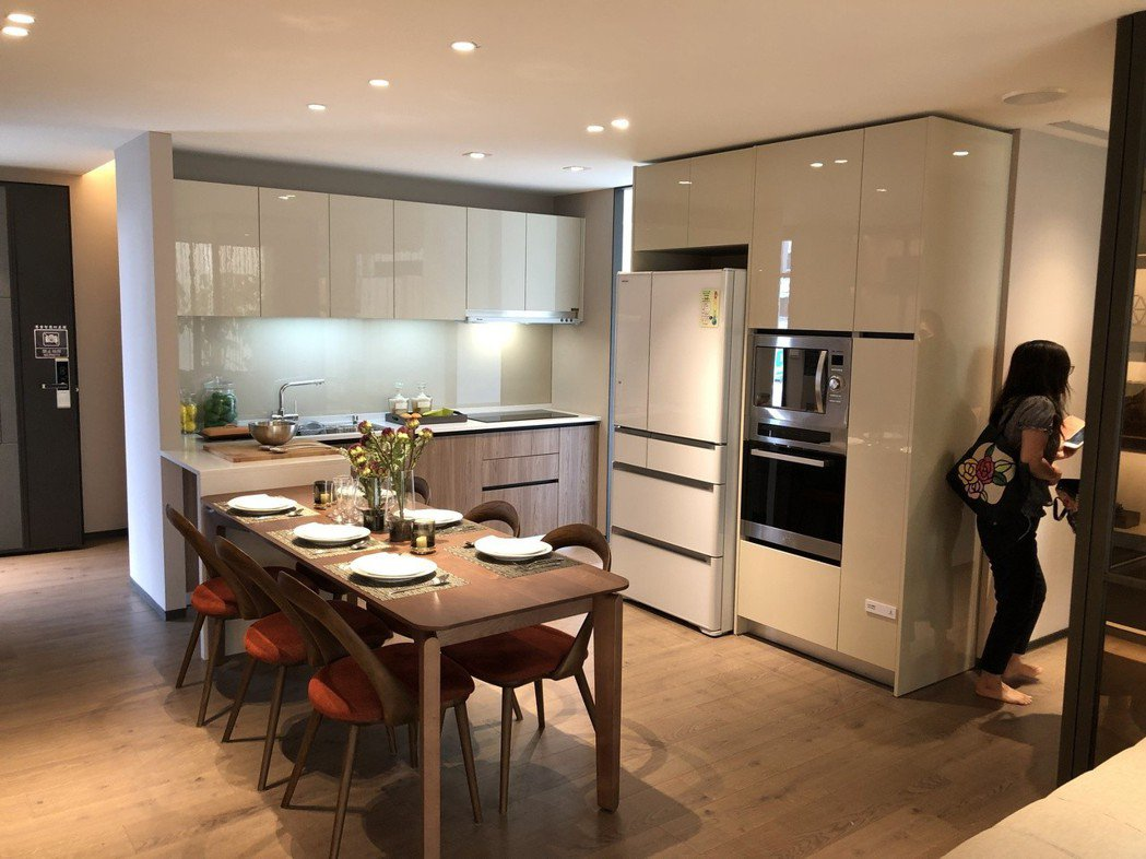 建案中是否有吸引女性規劃的亮點設計,成為房屋熱銷關鍵。記者宋健生/攝影