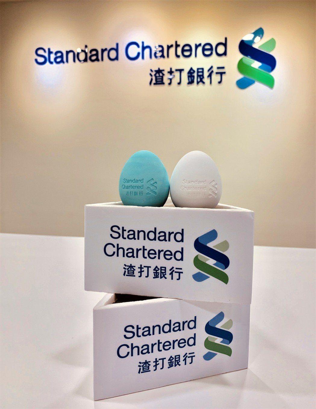 端午節立蛋活動,渣打銀行特製限量好彩蛋,提供蒞臨分行進行保險諮詢的客戶。圖/渣打...