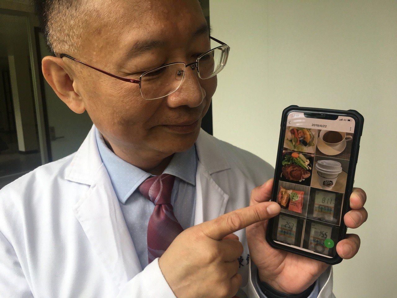 羅東博愛醫院骨科部脊椎外科主任陳劍龍在院內營養科團隊協助下減重1年,也被要求飲食...