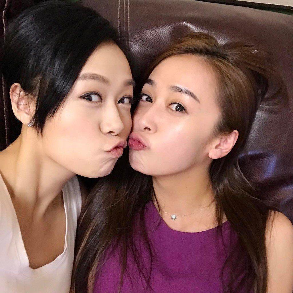 黃心美(右)、黃心穎姊妹感情深厚。圖/摘自IG