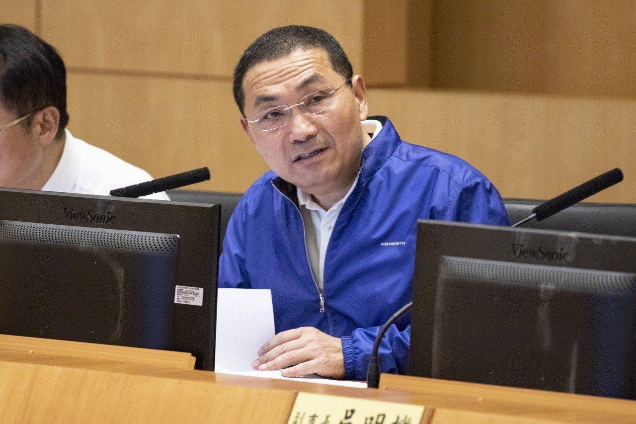 新北市長侯友宜。圖/報系資料照片