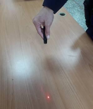 雷射筆不適合當作玩具給兒童隨意把玩。圖/聯合報系資料照片