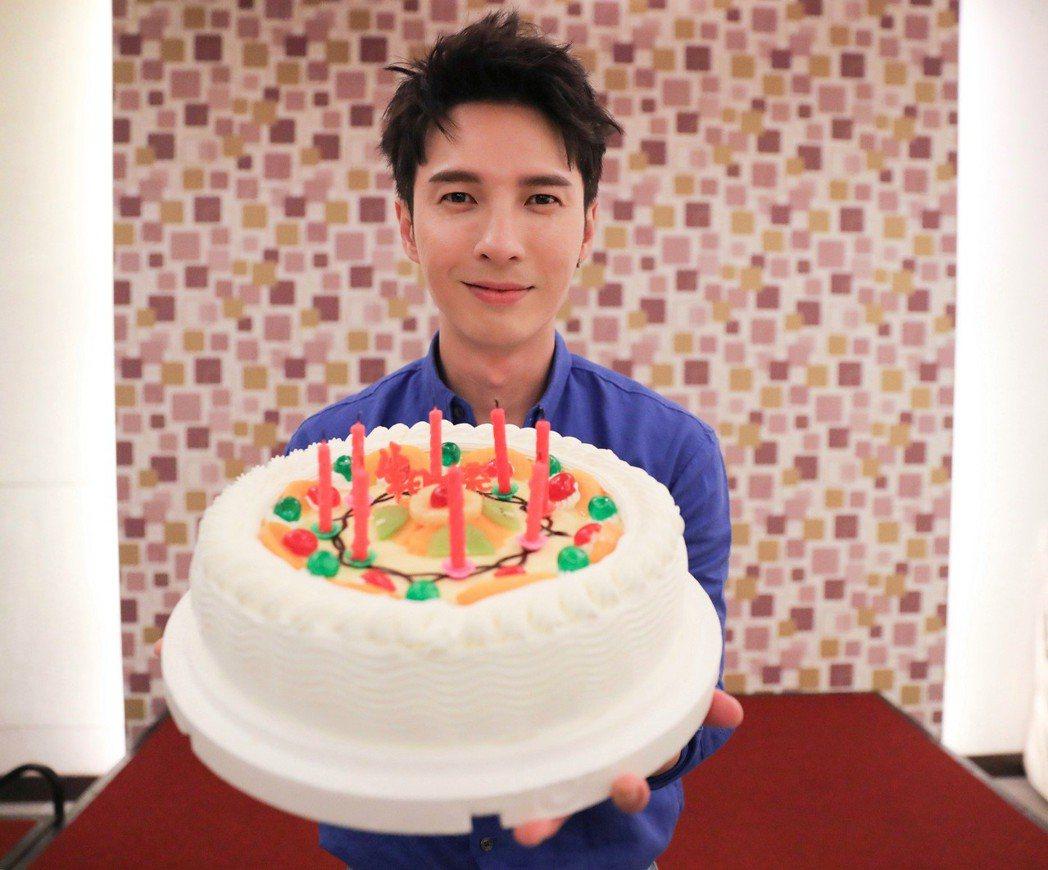陳勢安將迎來35歲生日。圖/星光娛樂提供