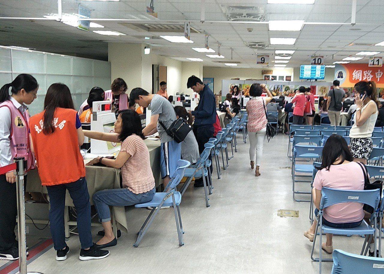 第一批退稅在7月31日。圖/報系資料庫