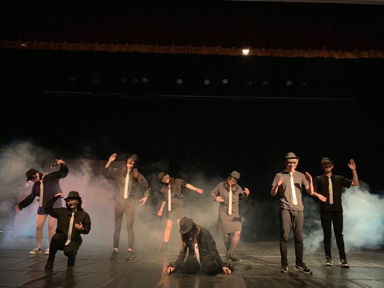 靜宜大學英文系畢業公演,今晚演出。圖/靜宜大學提供