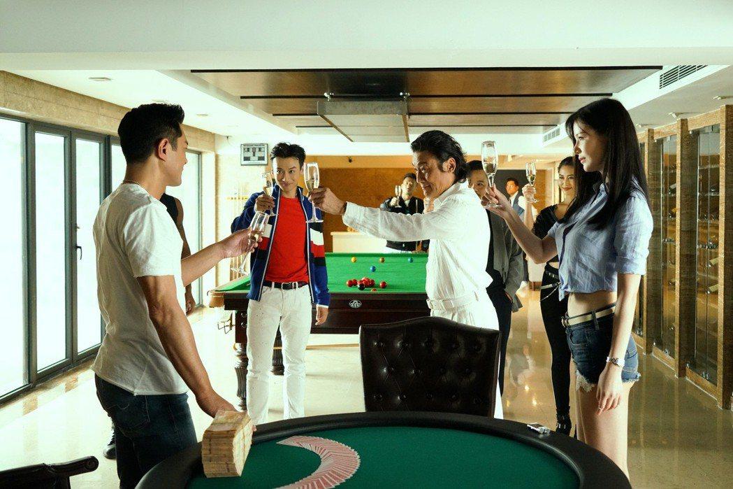 「追龍II賊王」預計6月12日上映。圖/華映娛樂提供