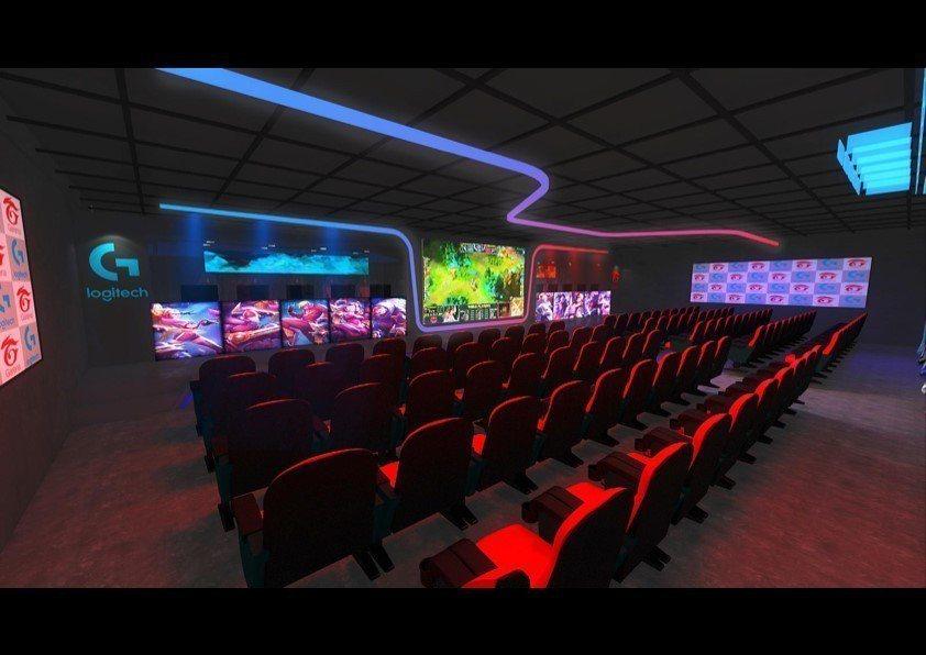 未來Logitech G電競館2.0將帶給玩家與觀賽粉絲更好的體驗空間與氛圍。圖...