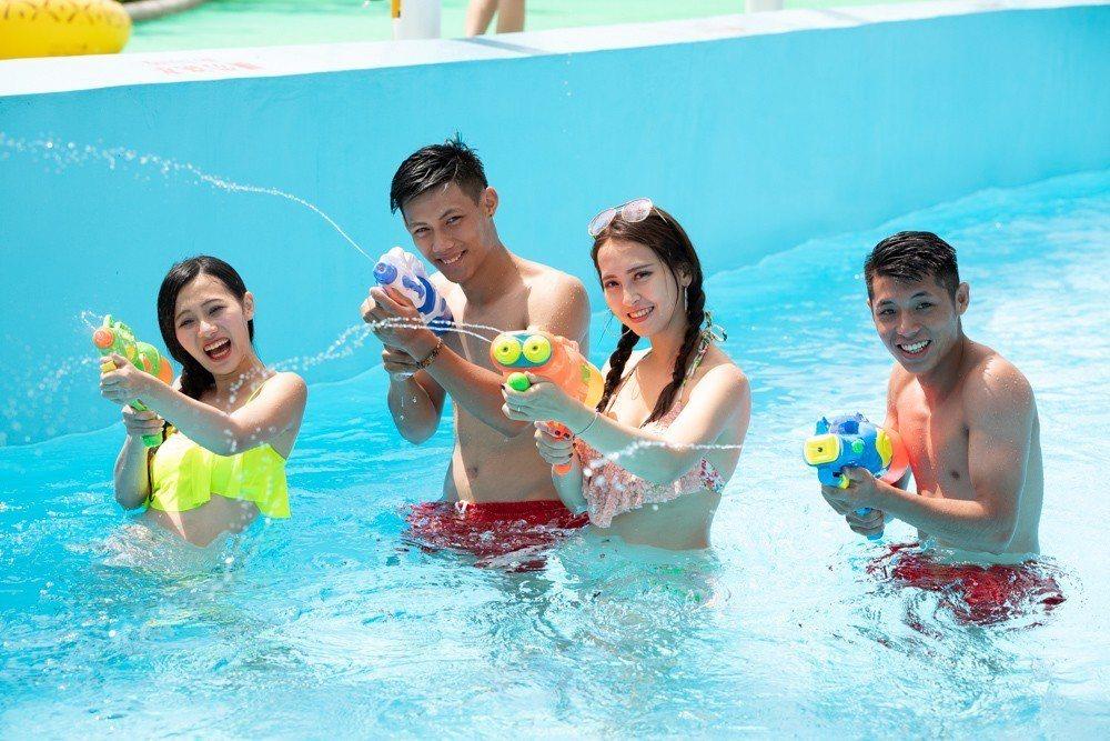 六福水樂園即將在6月15日開放。圖/六福水樂園提供