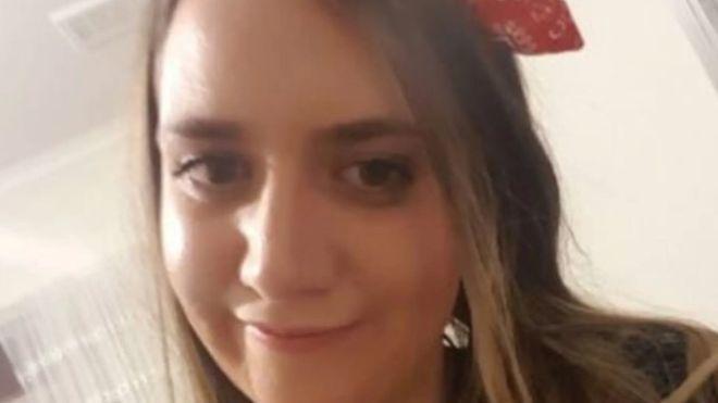25歲的澳洲女子科特妮.赫倫在墨爾本一處公園遭殺害。(翻攝BBC)