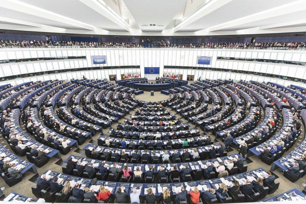 法國東部史特拉斯堡是歐洲議會總部所在地,每個月都會在此召開為期約一周的全會。(美...