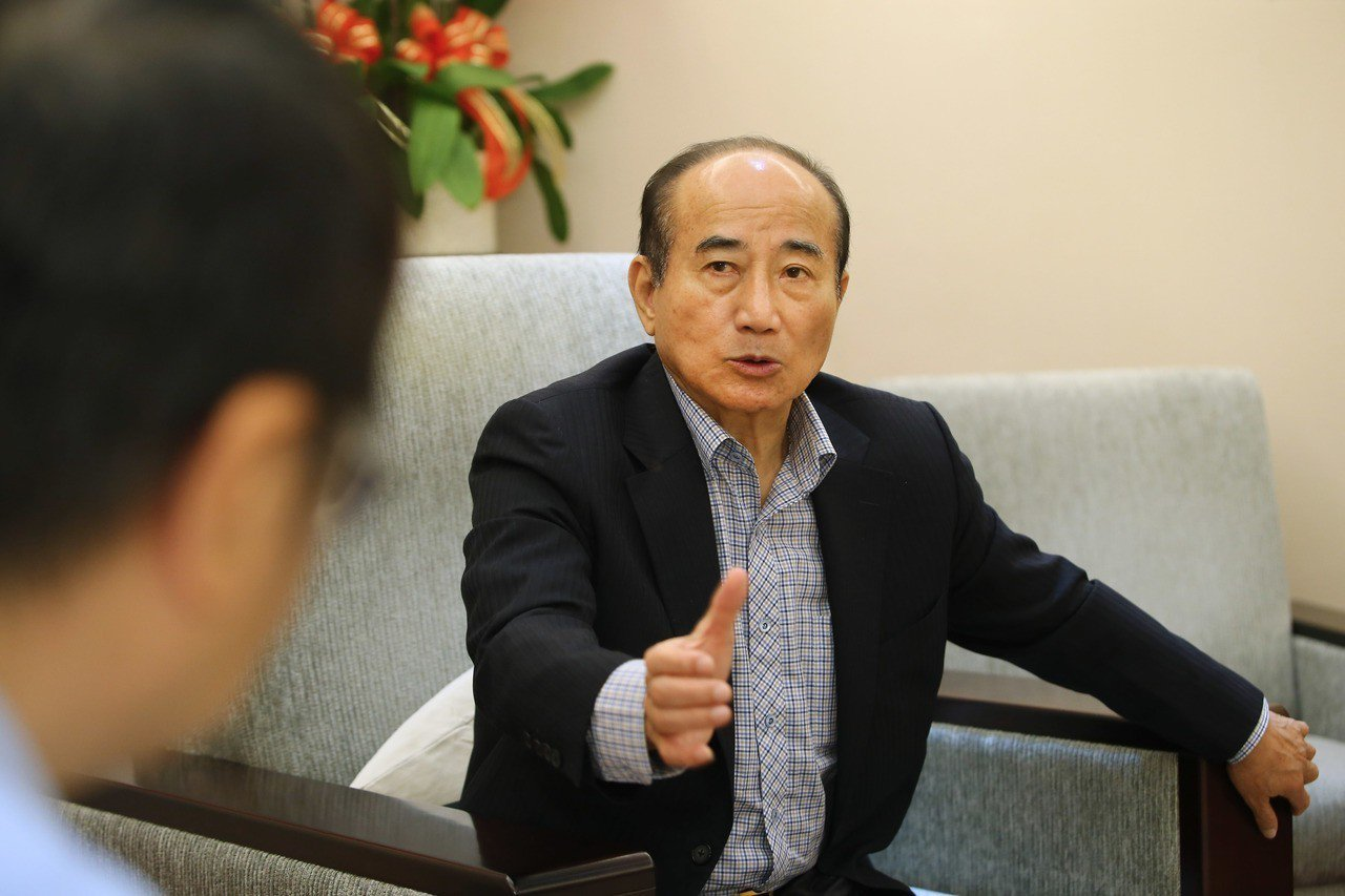 專訪/王金平說台灣有兩大危機:只有我當總統才能解決