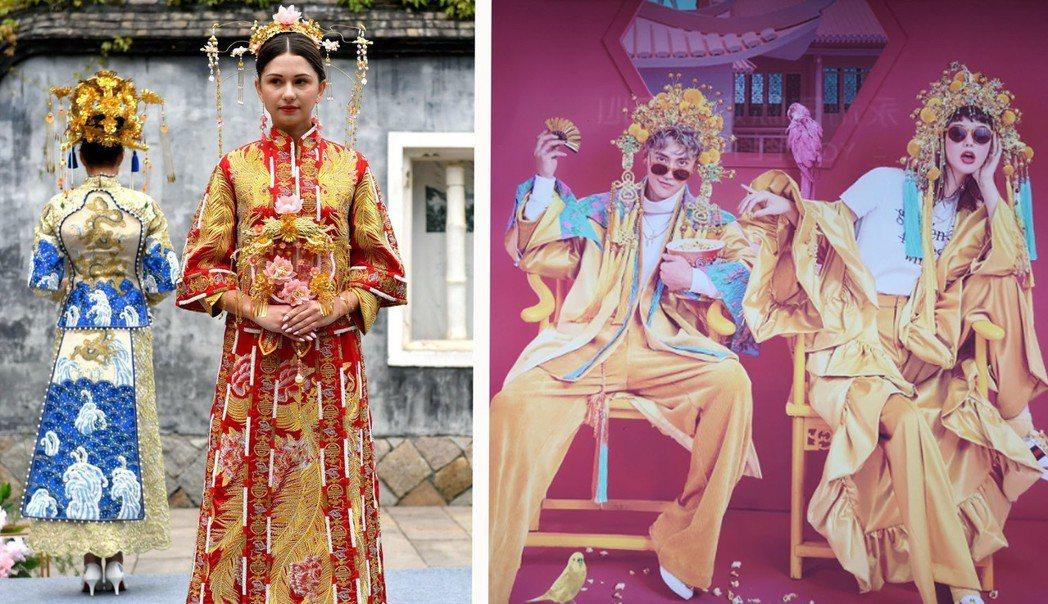 現在的中式婚紗照已經不單單只是傳統風味了,講究的是將傳統與現代元素相結合,要潮流...