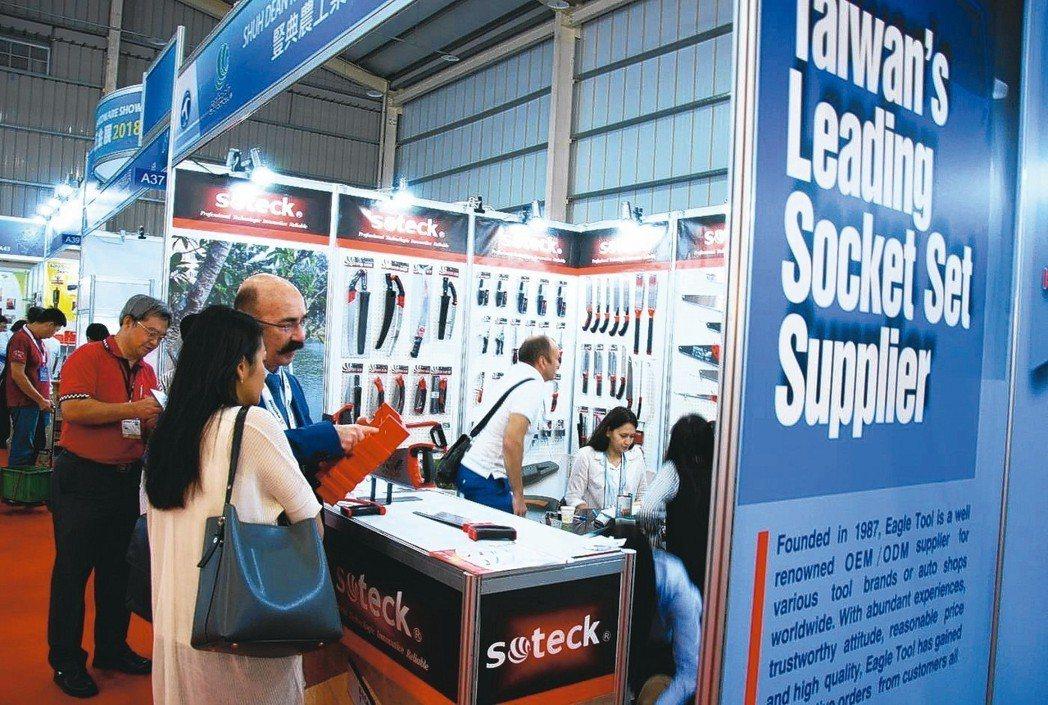 IMT Taiwan吸引眾多國內外買主參觀。 開國/提供