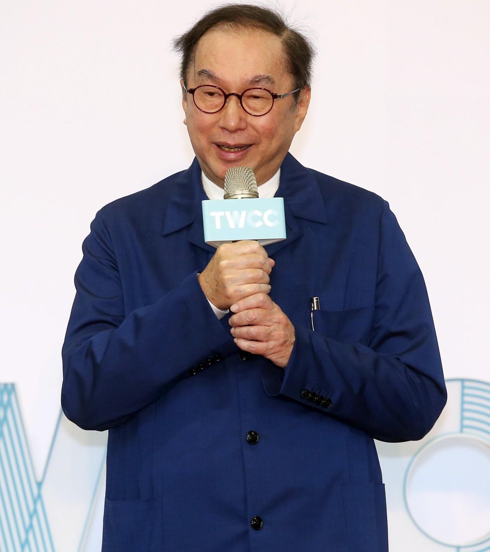 廣達電腦董事長林百里。記者曾吉松攝影
