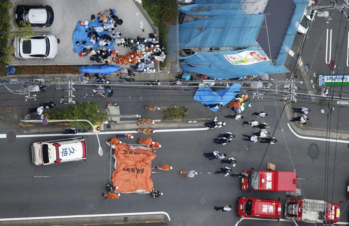 日本當地時間28日上午7點45分左右,在首都圈的神奈川縣川崎市,一名年約40至5...