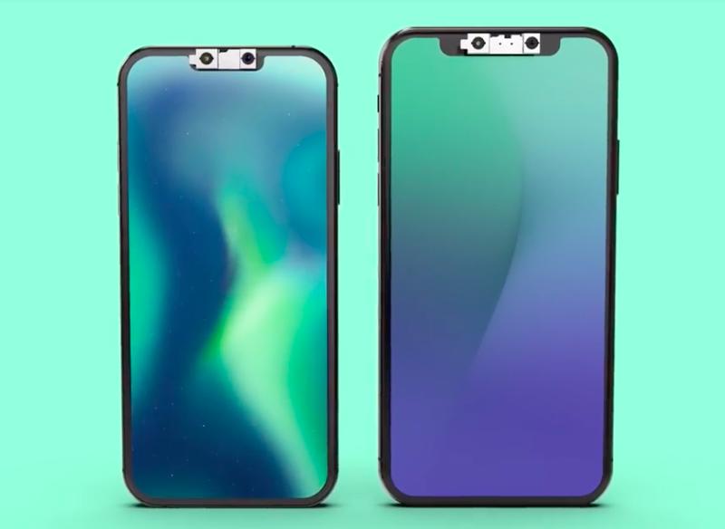 2019年新iPhone的臉部辨視範圍變大了,至於瀏海可能會變小,但還是會在。p...
