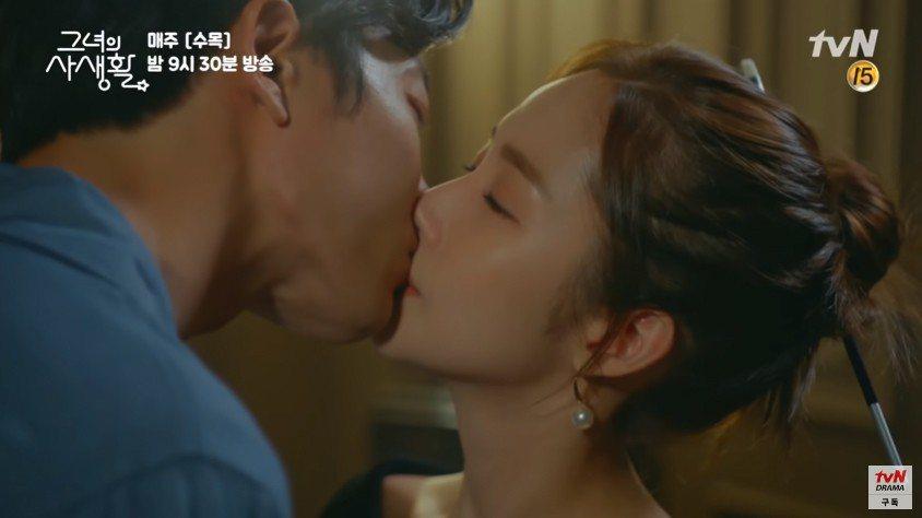 韓劇「她的私生活」由於男、女主角的高顏值。圖/擷自youtube。