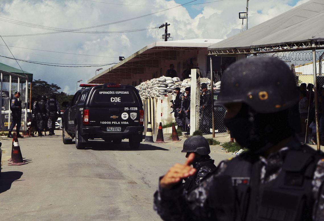 自上個周日起,以巴西北部大城瑪瑙斯(Manaus)為中心的4間亞馬遜州立監獄,竟...