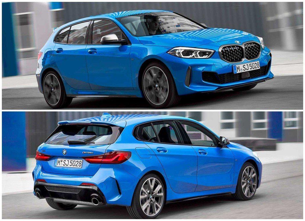 全新第三代1 Series是BMW在2019年的重量級車款之一。 摘自BMW