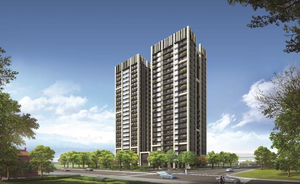 日本三菱地所首度插旗台灣住宅 ,就選拔尖夥伴潤泰創新。 潤泰創新/提供