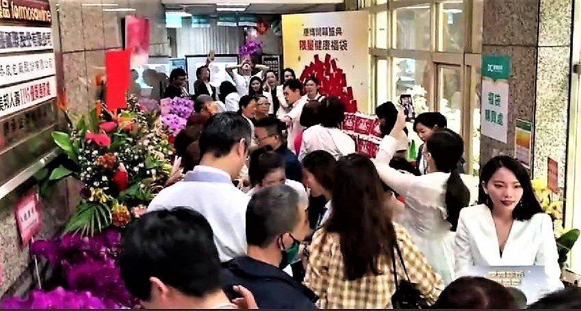 亞洲區頂尖抗衰醫學中心康博診所25日台北盛大開幕。 康見精準健康管理集團/提供