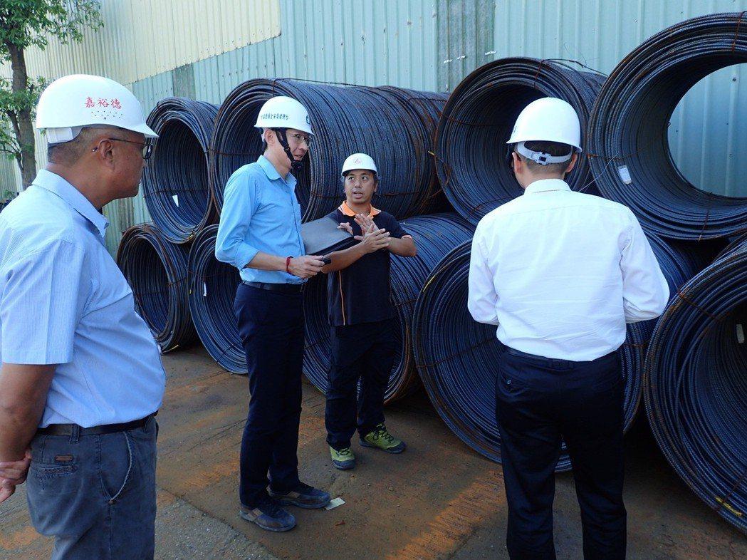 鋼筋加工廠物料管理評估。