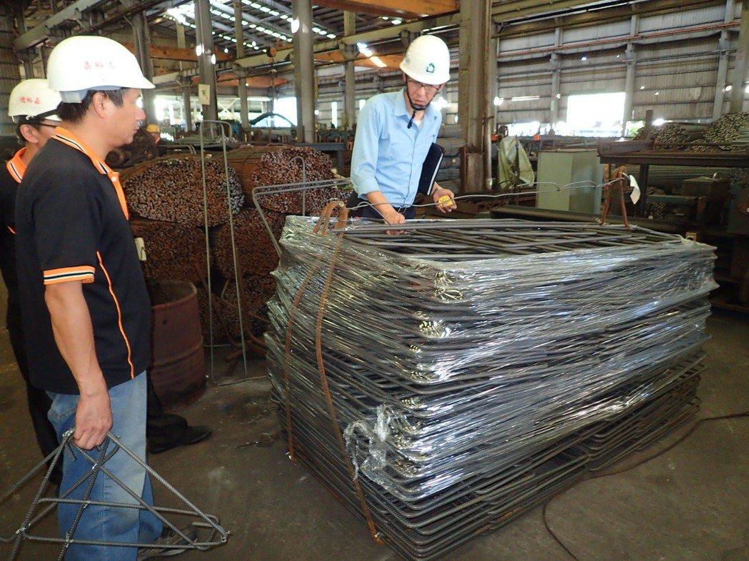 鋼筋加工廠出貨管理評估。