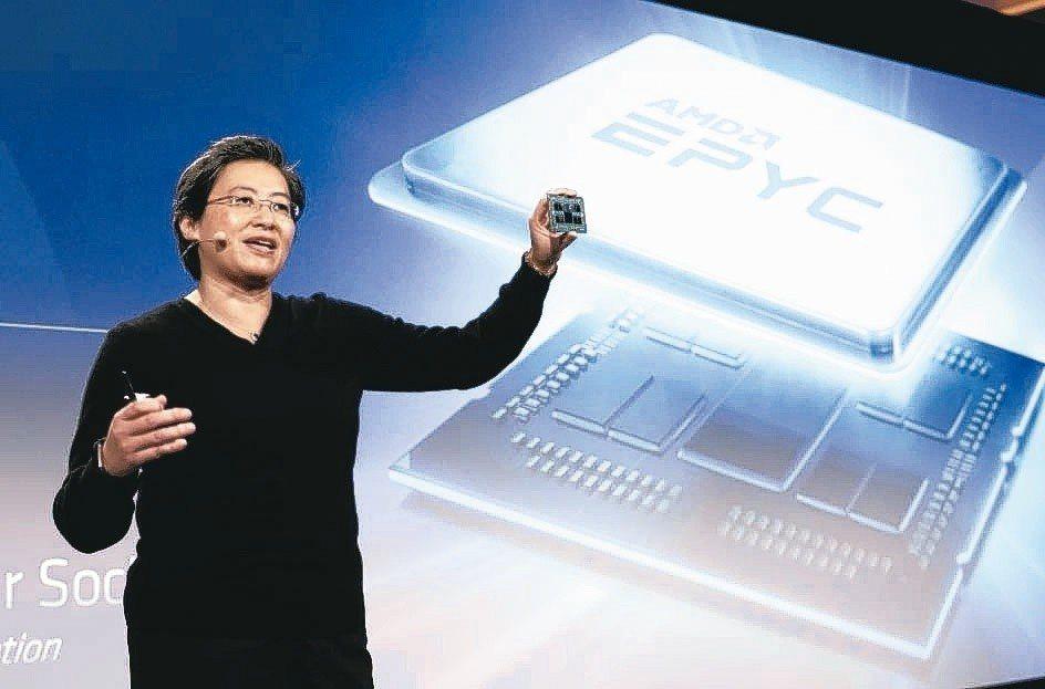 AMD總裁暨執行長蘇姿丰。 本報資料照