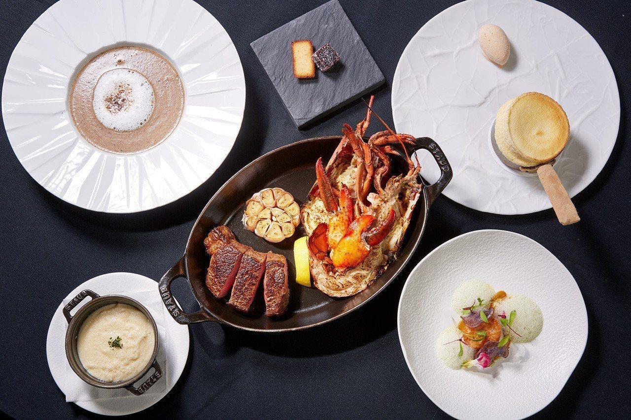 除了住宿外,還可到台北國賓飯店A CUT品嘗牛排大餐。圖/台北國賓飯店提供