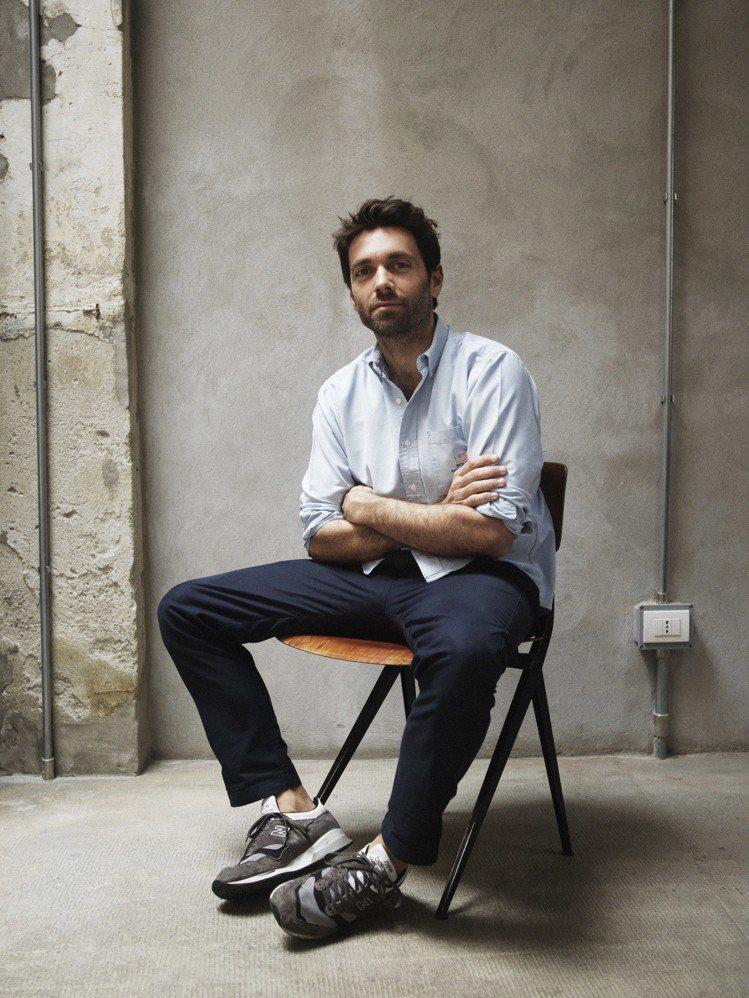 設計師Massimo Giorgetti。圖/MSGM提供