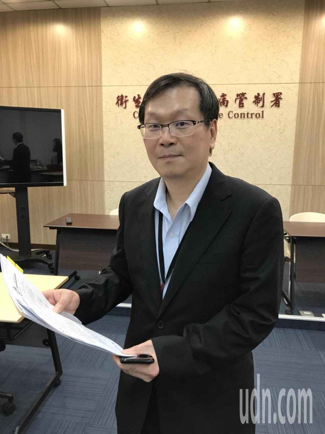 疾管署副署長莊人祥表示,腸病毒71型引起的重症病程變化快速,5歲以下嬰幼兒為高危...