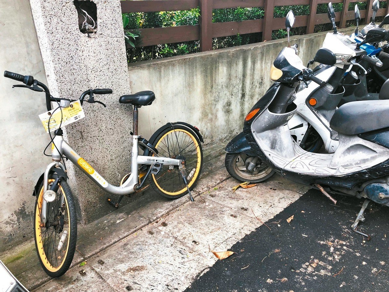 oBike正式走入歷史!全台棄置單車都成廢鐵