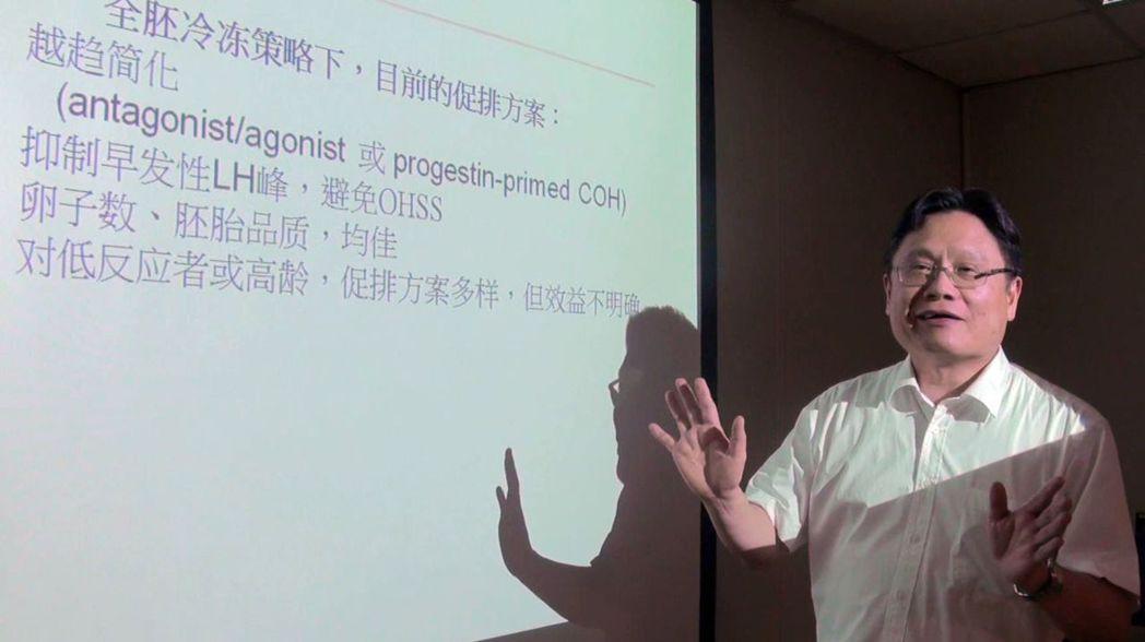 高雄長庚婦產科醫師龔福財(見圖)表示,冷凍胚胎的使用讓人工生殖作業可以拆解進行,...