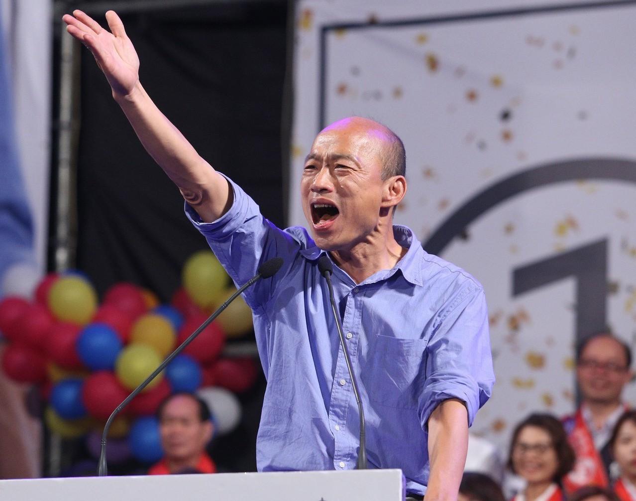 挺韓國瑜團體6月1日將在凱道舉辦大會師,力挺韓國瑜選總統,希望能再現去年底韓流風...