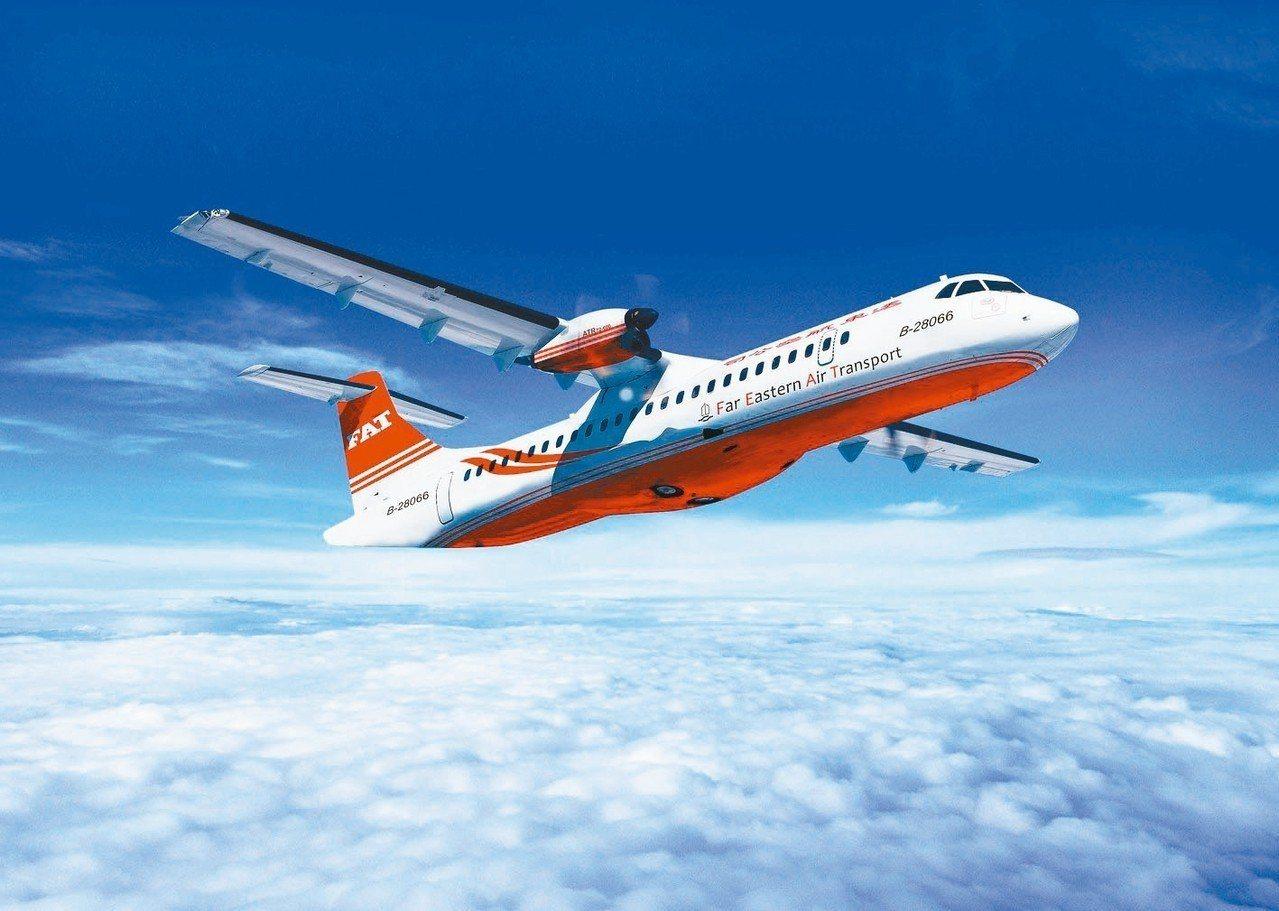 遠航預計明年農曆年前引進第十架ATR,補足四架MD客機汰除後不足的運能。 遠航/...
