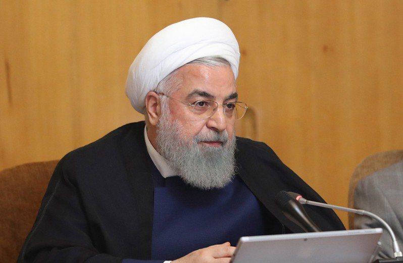 伊朗總統羅哈尼。 歐新社