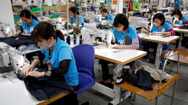 自美國總統川普對中國加徵關稅後,越南對美國的出口大增。 路透