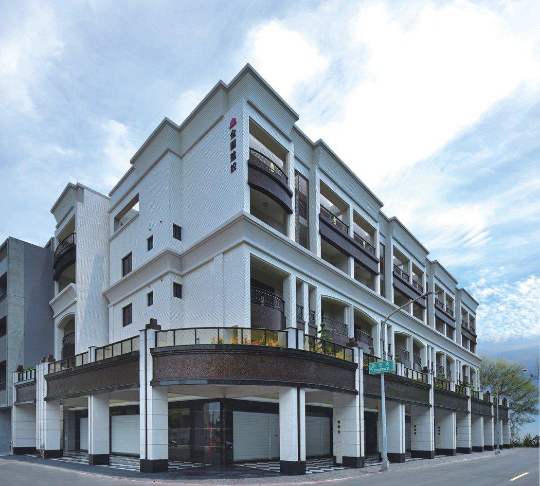 【紳市】國際精品級建築外觀。 圖片提供/金圓建設