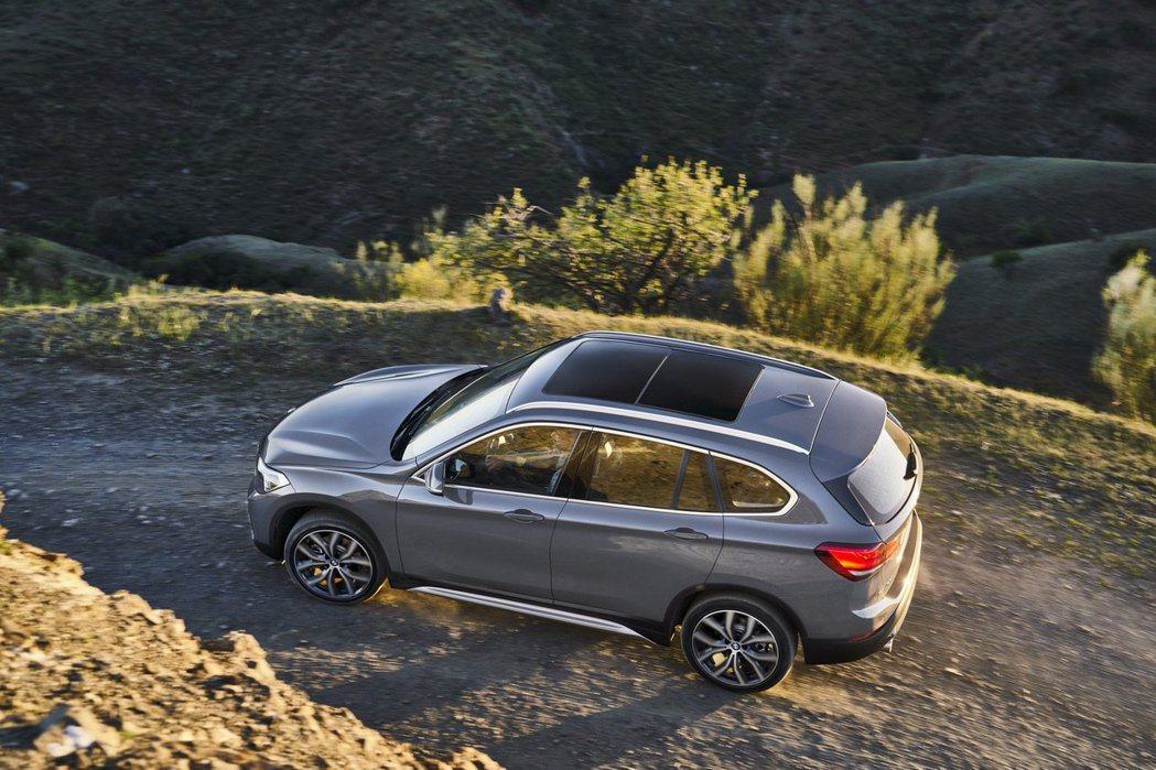 小改款BMW X1的引擎動力仍以三缸、四缸為主。 摘自BMW