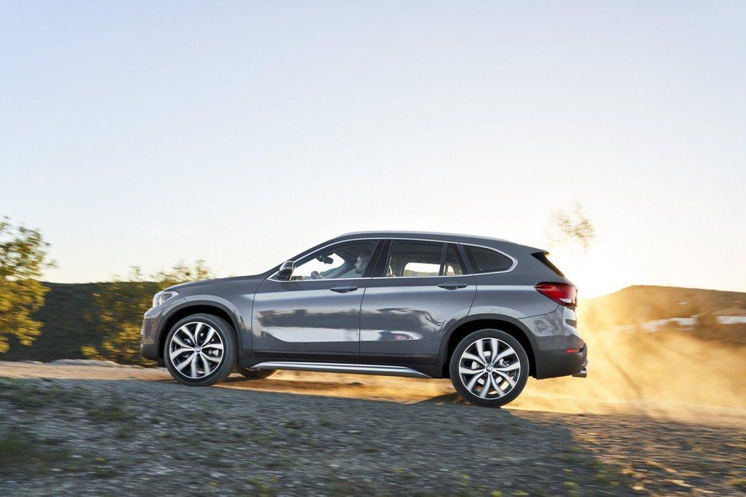 全新BMW X1 xDrive25e擁有至少50km的純電行駛距離。 摘自BMW