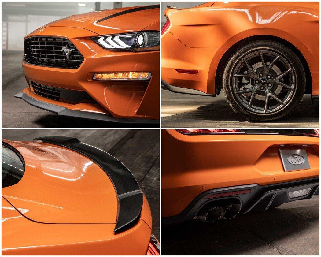 包括空力套件、懸吊、鋁圈甚至連排氣聲浪都有升級。 摘自Ford