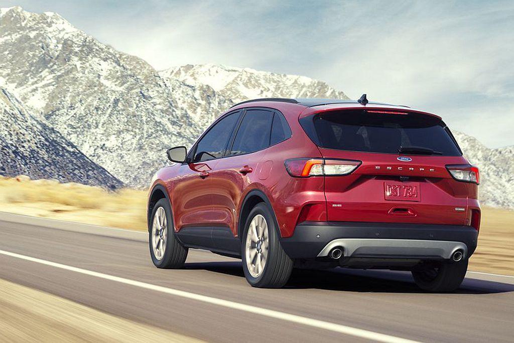 美規Ford Escape S、SE、SEL車型配置1.5L EcoBoost渦...