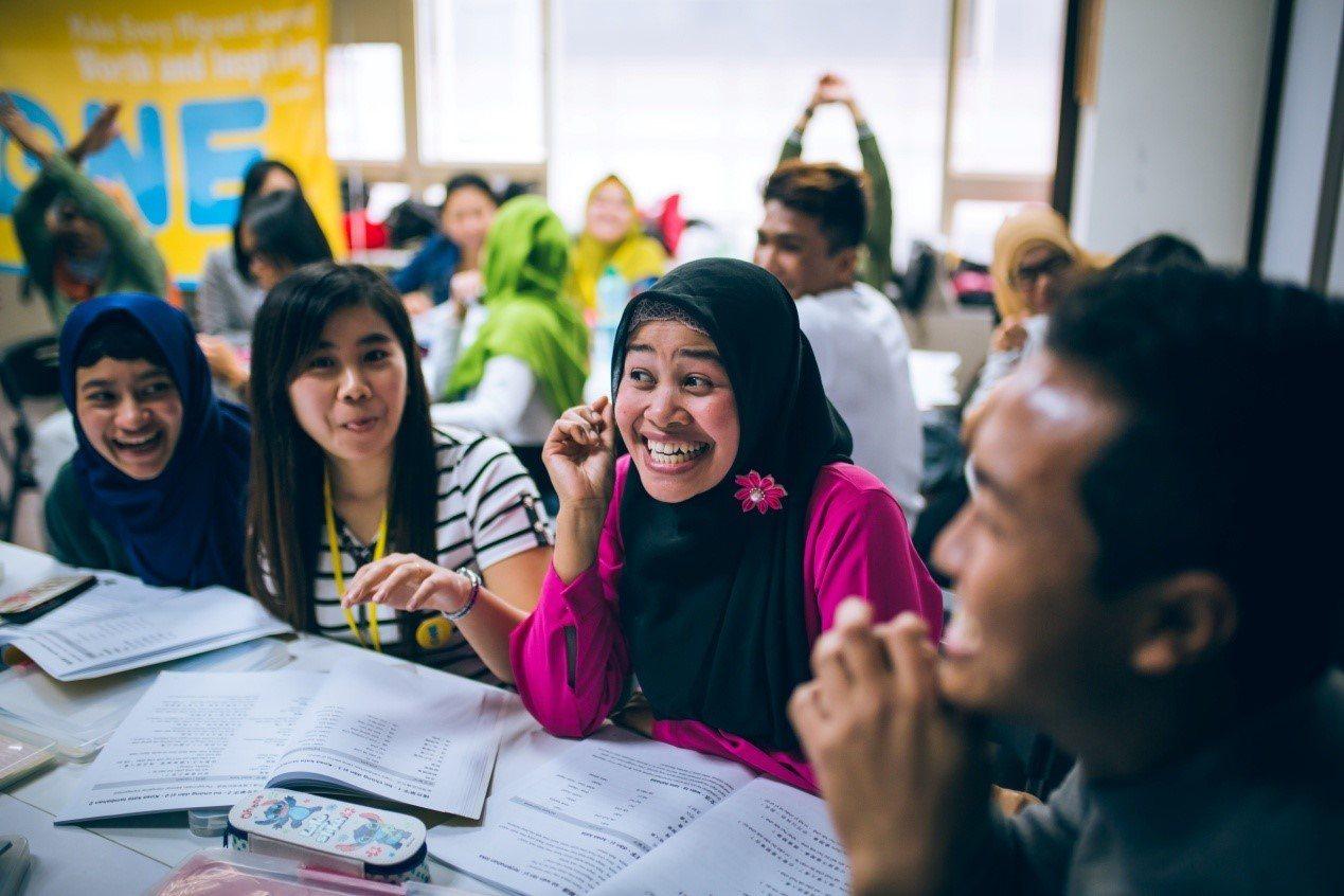 四年來有些東南亞移工從移工人生學校結業後,因為中文能力、熟悉台灣和母國的社會文化...