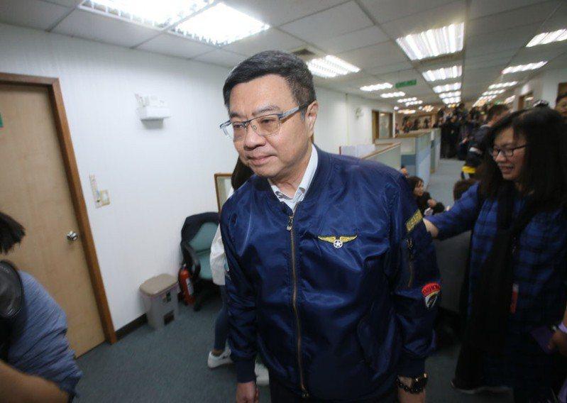 民進黨主席卓榮泰面對蔡賴陣營互槓,怎麼做都會得罪一方。攝影/柯承惠