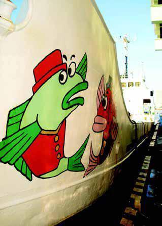 圖說2:東京築地市場碼頭停泊的漁船。圖、文/時報出版《海鮮的美味輓歌:健康吃魚、拒絕濫捕,挽救我們的海洋從飲食開始!》