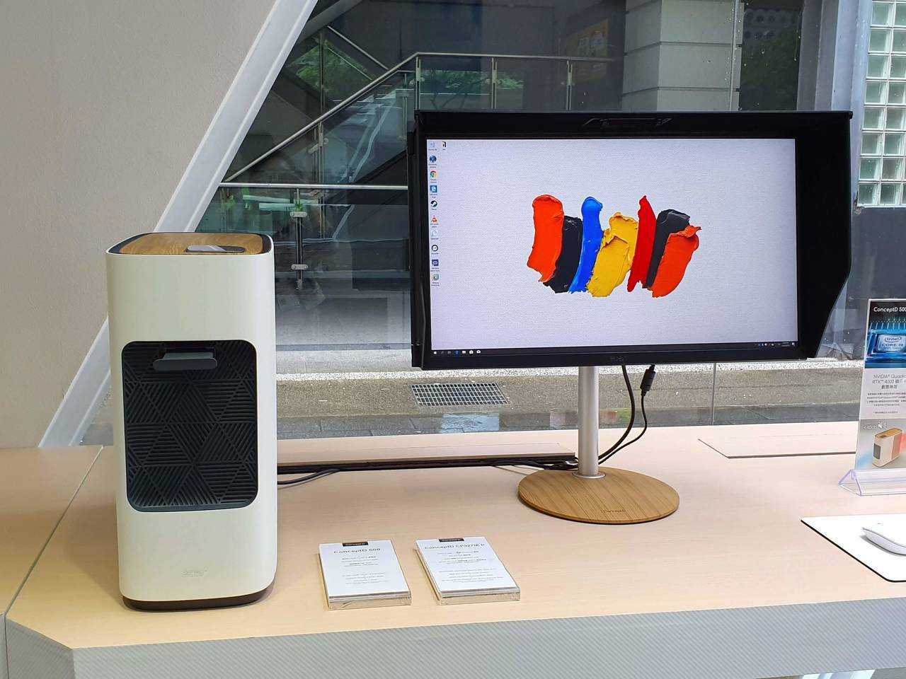 ConceptD CP7為首款為CG創作者量身打造的4K螢幕,具有精準的色彩準確...
