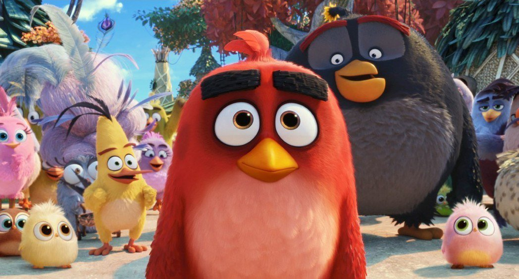 「憤怒鳥玩電影2:冰的啦」描述銳德(中)與鳥島上的禽類又捲入新的冒險。圖/摘自i