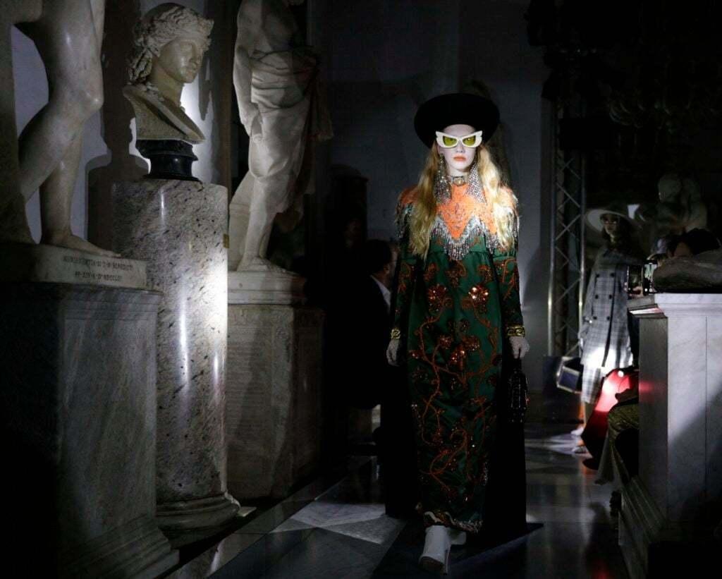 Gucci在羅馬舉辦2020早春時裝秀,特別挑選知名的卡比托利歐博物館(Capi...